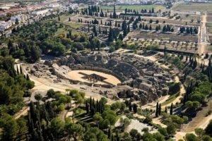 Itálica ruinas de una ciudad romana